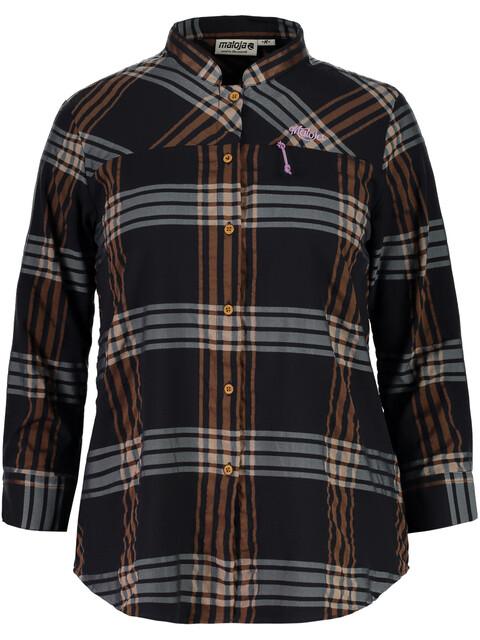 Maloja MuraM. - Camiseta manga corta Mujer - naranja/negro